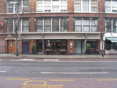 Match bar Clerkenwell